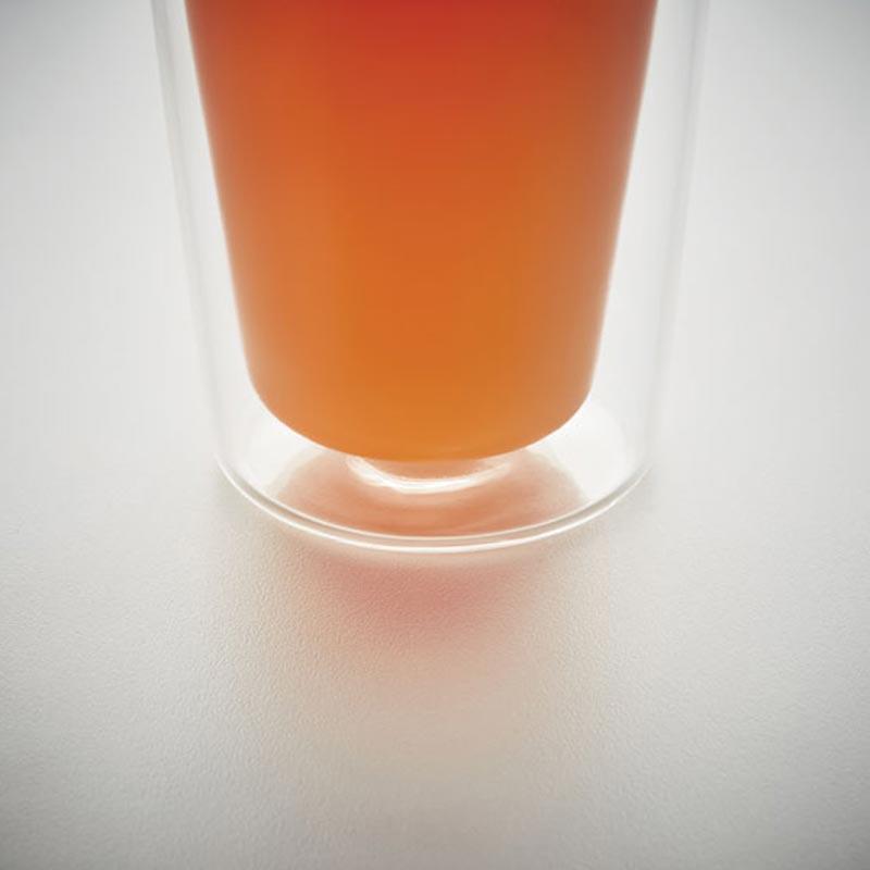 Mug de voyage personnalisé en verre Bielo double paroi