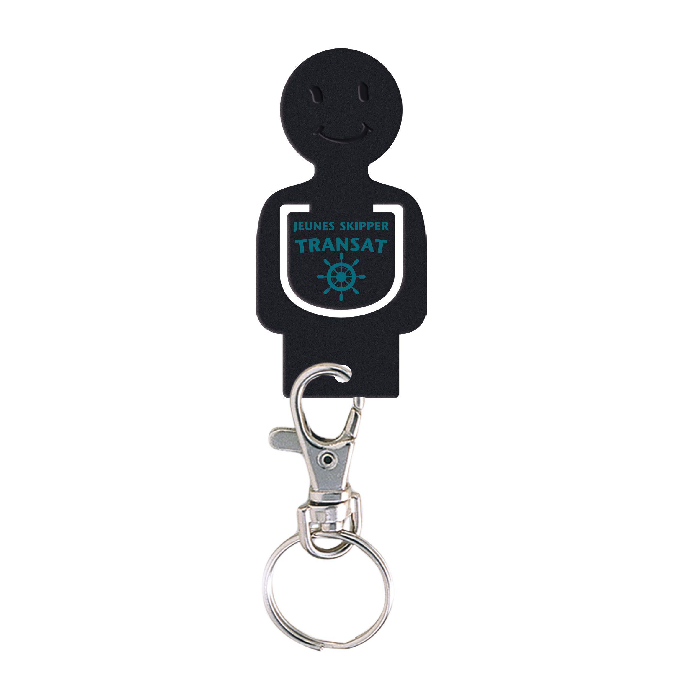 Porte-clés personnalisable jeton caddie Figurine - Goodies salon