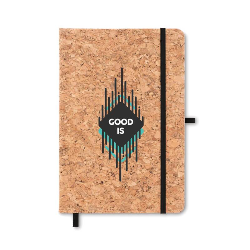 Goodies écologique - Carnet A5 avec liège SUBER