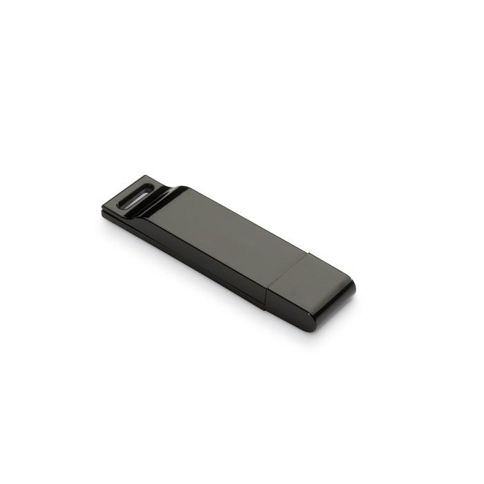 Clé USB publicitaire Dataflat noir- Cadeau publicitaire