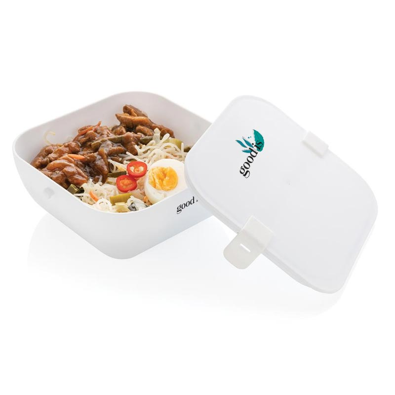 Lunch box publicitaire Siva ouverte