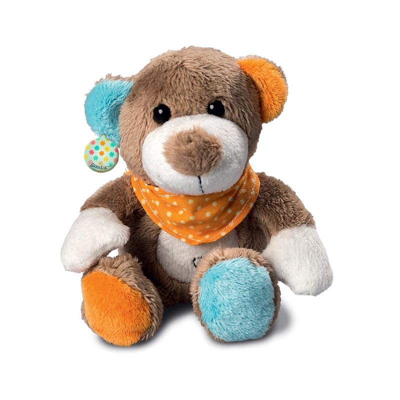 Peluche ours Patchwork