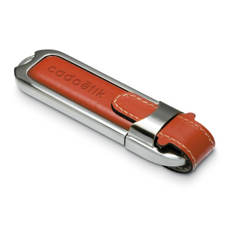 Clé USB publicitaire Datashield - Coloris marron