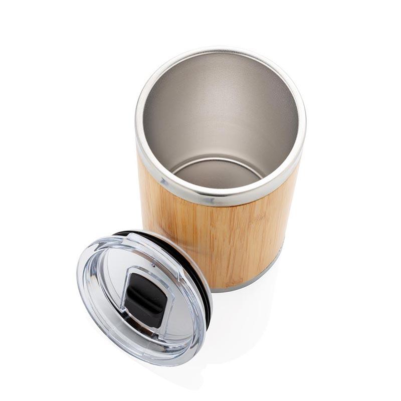 Mug personnalisé coffee-to-go en bambou Kekope