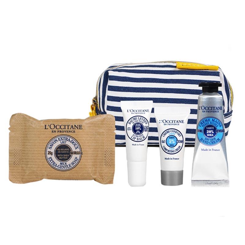 Coffret cosmétique publicitaire Karite moi L'Occitane - Goodies made in France