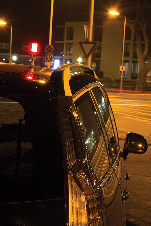Objet publicitaire prévention - Lampe torche publicitaire d'urgence pour voiture Safety