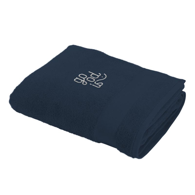 Serviette de bain Bath Towel 70x140cm 420 g - Coloris bleu