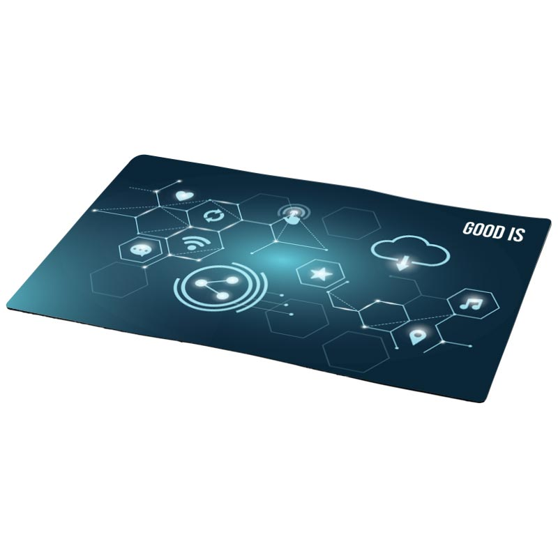 Tapis de comptoir personnalisé Q-Mat® de taille A3 - Goodies high-tech