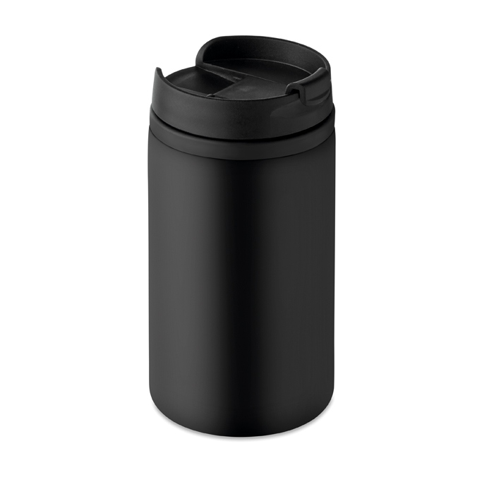 Cadeau promotionnel - Mug personnalisé double paroi Falun - noir