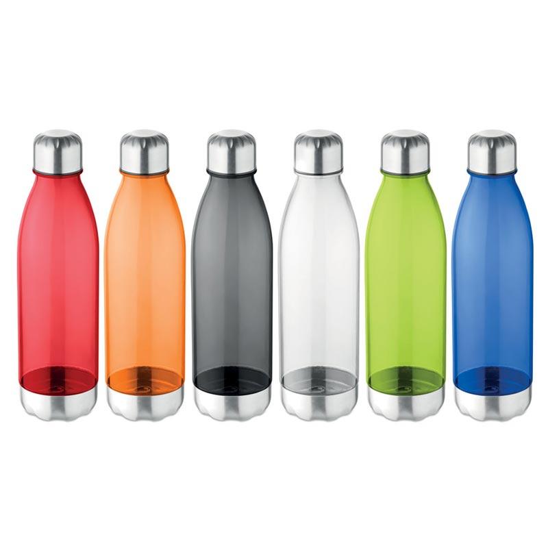 Bouteille publicitaire en tritan Aspen 600 mL - Coloris disponibles