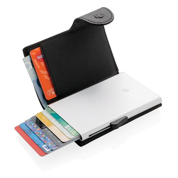 Porte-cartes / Portefeuille publicitaire anti-RFID C-Secure Protek - Objet publicitaire