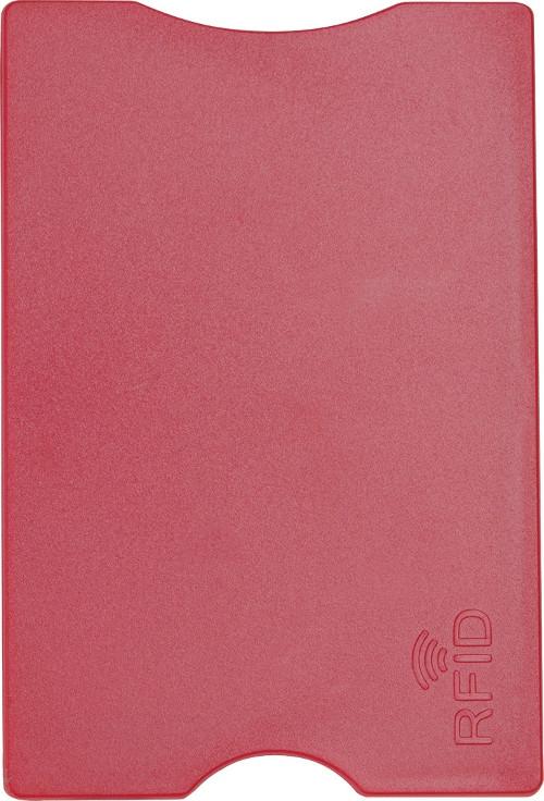 Porte-cartes personnalisable Focus bleu - porte-cartes promotionnel