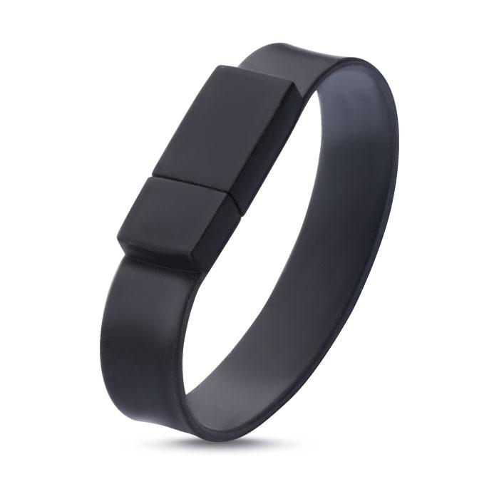 Clé USB publicitaire Silicone Wrist - Objet publicitaire