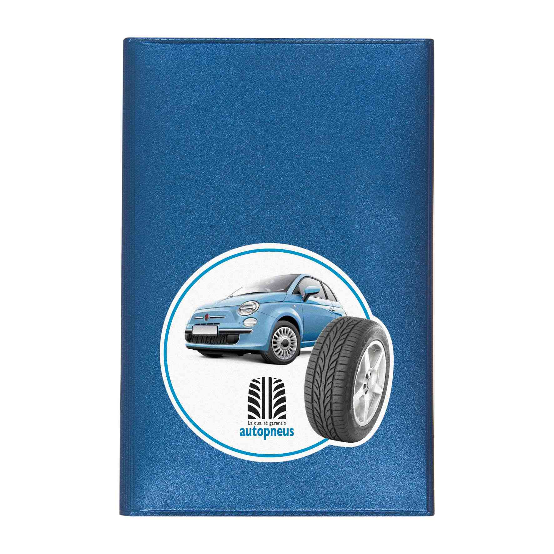 Goodies voiture - Porte-carte grise publicitaire 3 volets Motor
