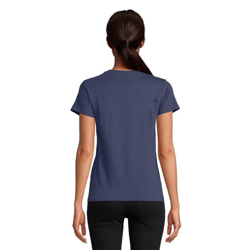 t-shirt publicitaire en coton bio Crusader vue de dos