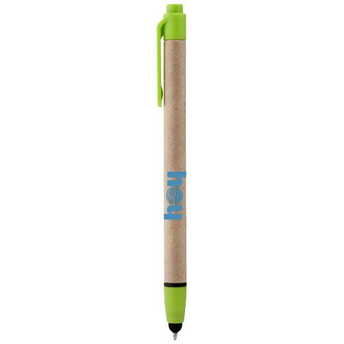 Stylet-stylo à bille personnalisable noir