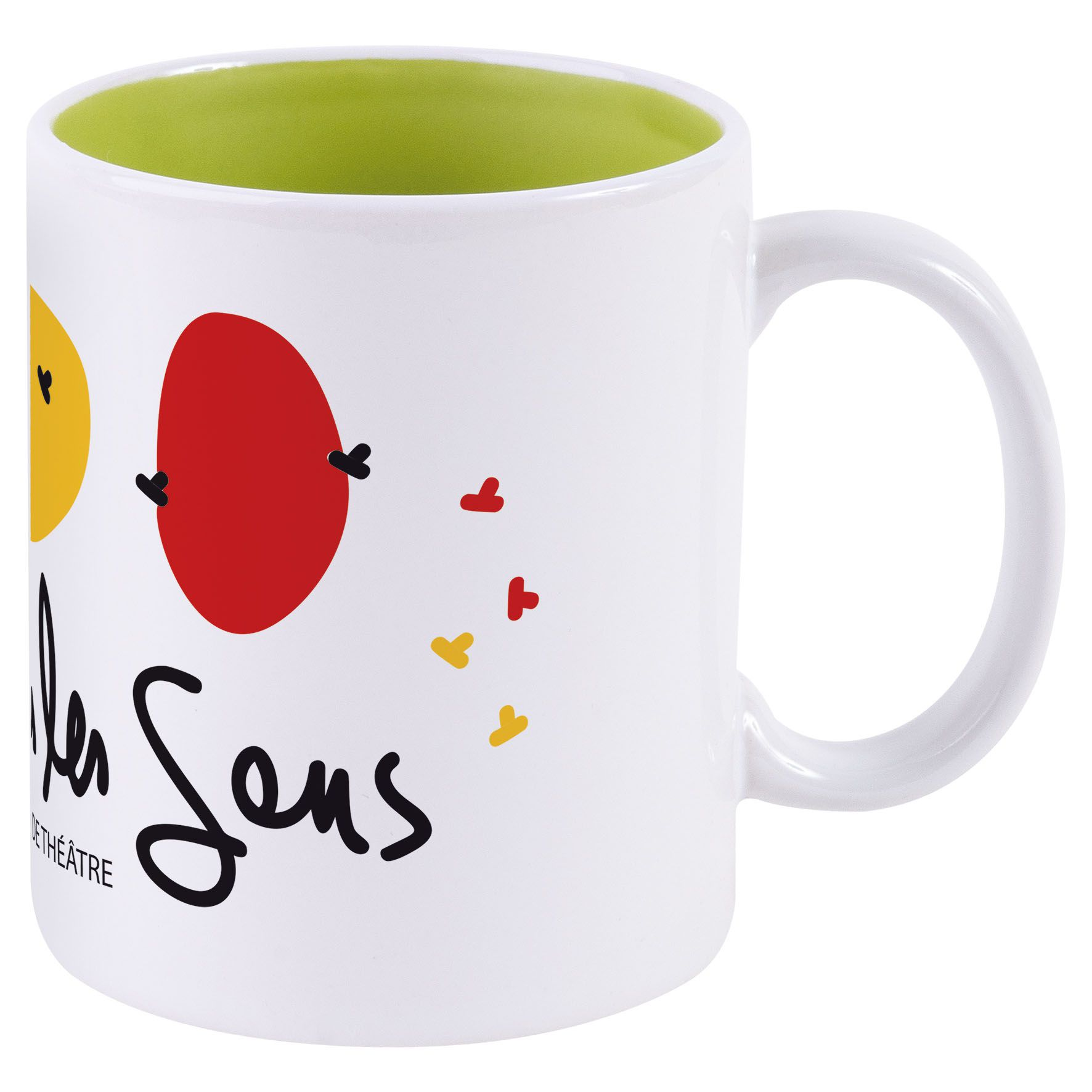 Objet publicitaire - Mug publicitaire Bicolore pour sublimation 31 cl