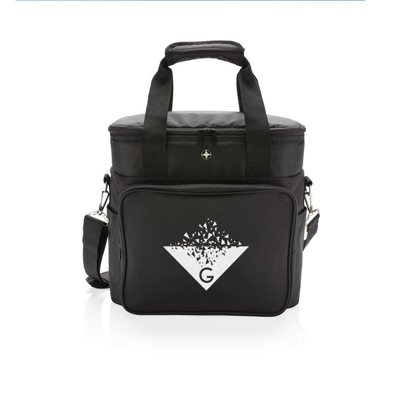 Sac isotherme publicitaire Swiss Peak Deluxe
