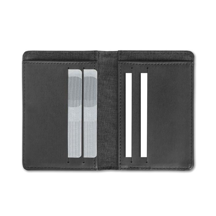 Objet publicitaire - Porte-cartes personnalisé de carte de crédit Shieldard