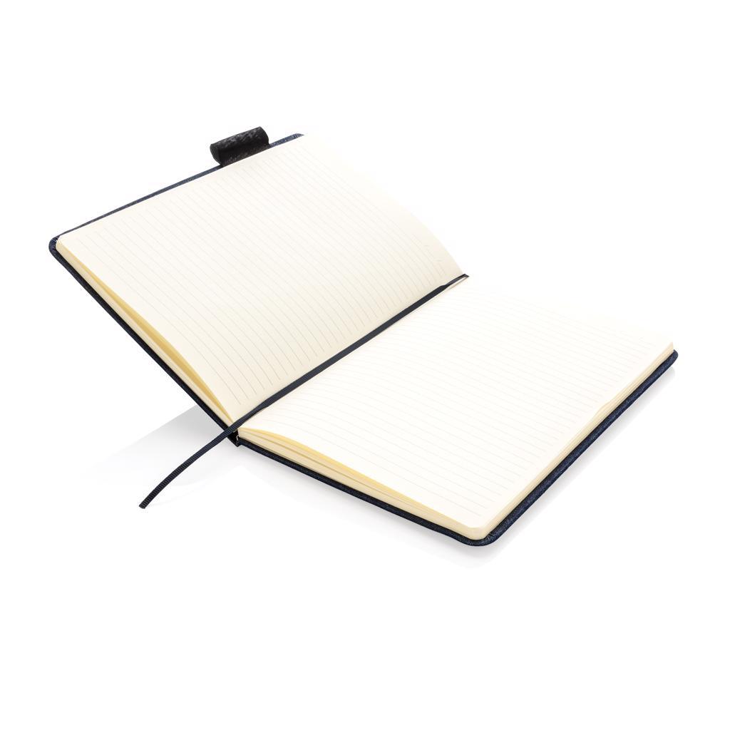 Carnet de notes A5 personnalisable en Denim Blue