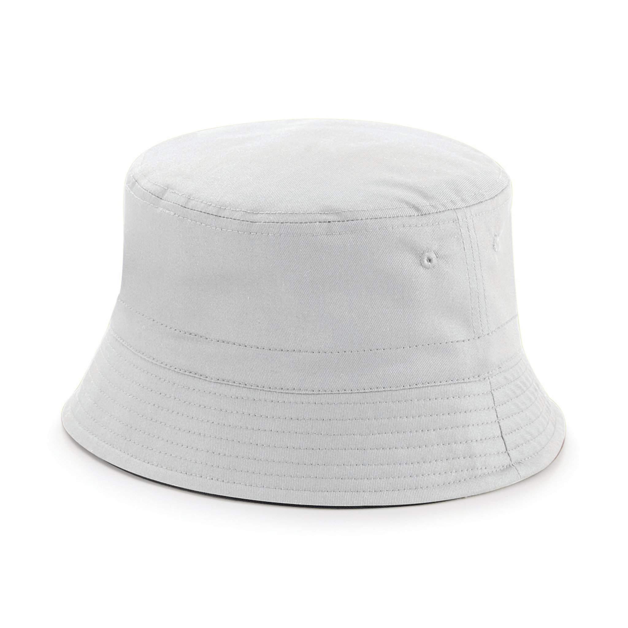 Chapeau publicitaire Bucket - chapeau personnalisable french navy/blanc