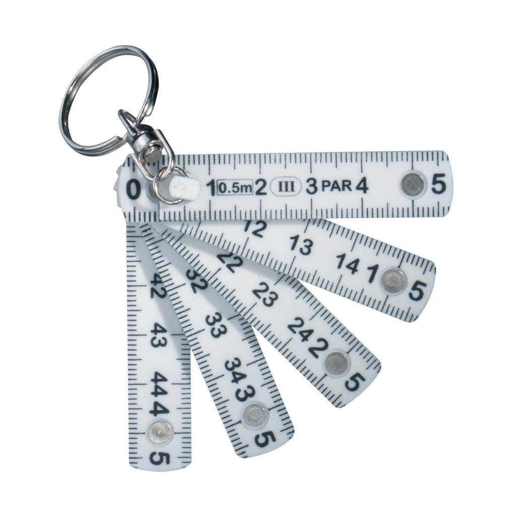 Porte-clés Mini règle pliable  - goodies