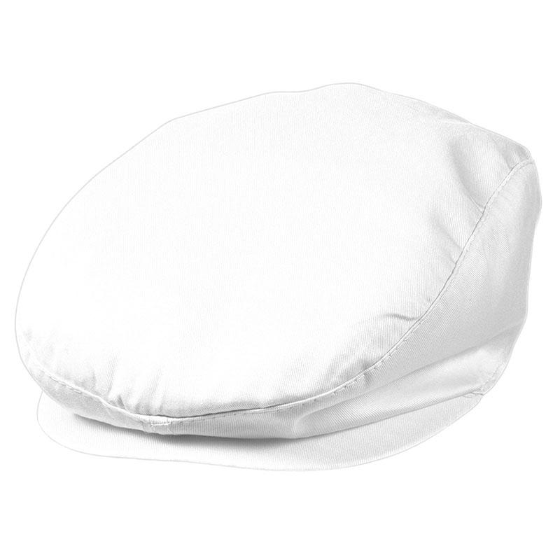 Béret publicitaire Cabrio blanc - béret personnalisable