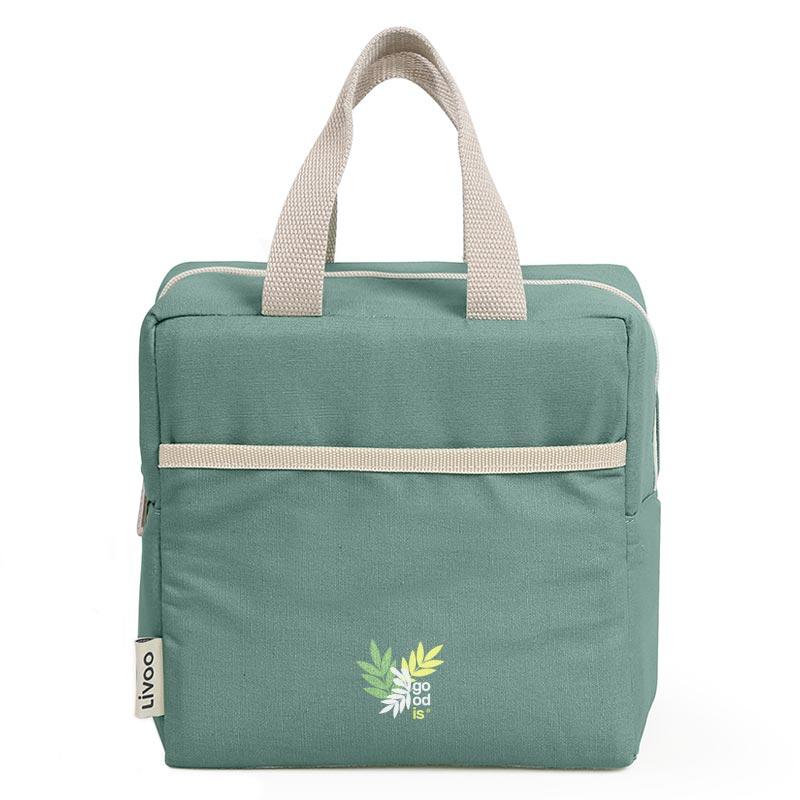 Sac isotherme publicitaire Abby - Coloris vert