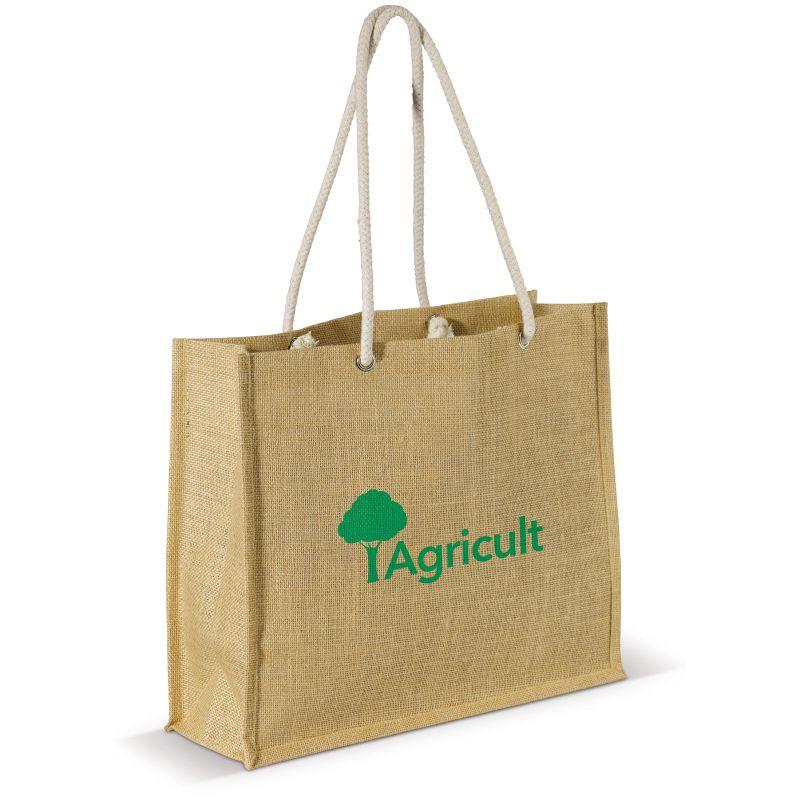 Sac shopping publicitaire jute JUTY - cadeau publicitaire écologique