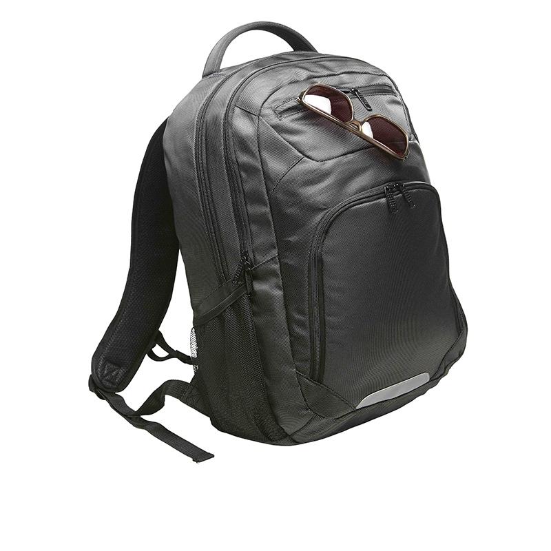 Sac à dos publicitaire à ordinateur Premium avec nombreux compartiments et poches