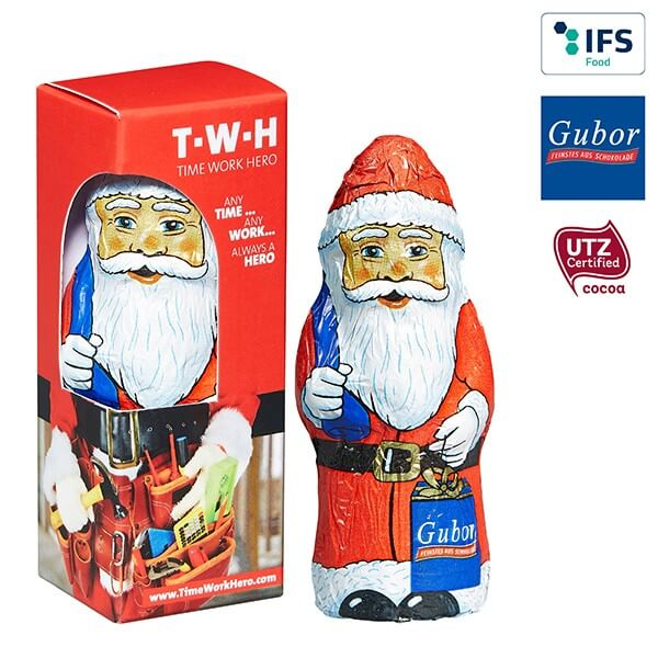 Père Noël en chocolat de Gubir