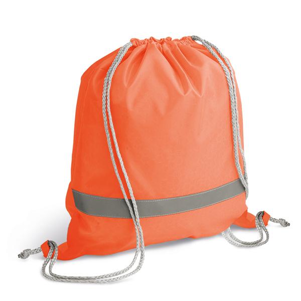 Sac à dos personnalisable Bright orange - objet publicitaire sécurité