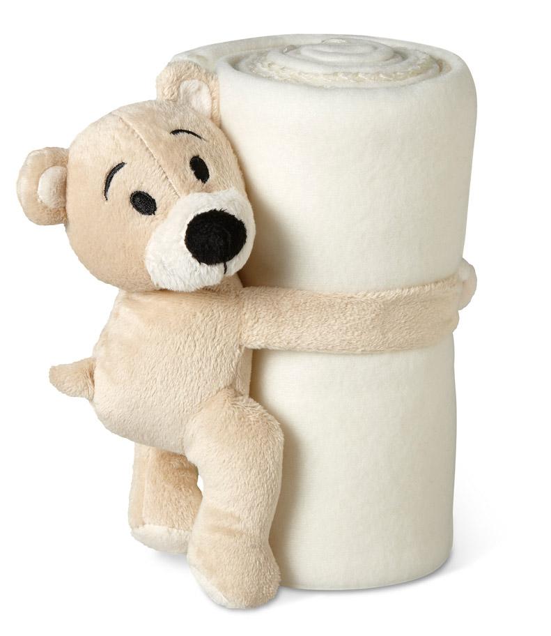Couverture polaire publciitaire Manta - cadeau d'entreprise pour enfants