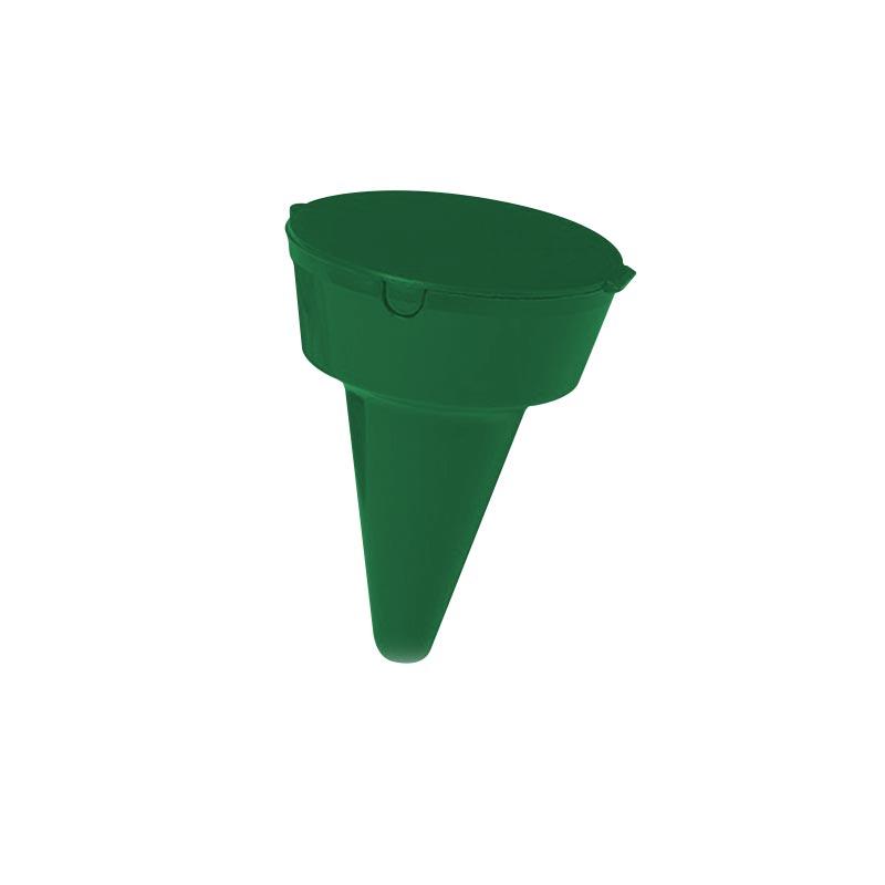 cendrier de plage publicitaire Clopbox - vert