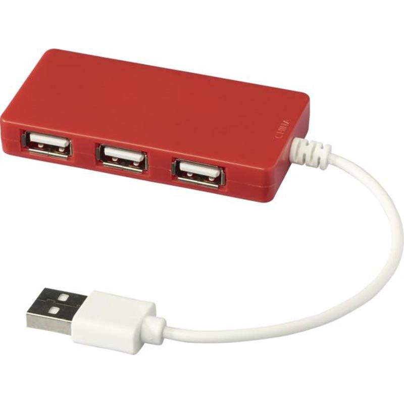 Accessoire publicicitaire high-tech - Hub USB publicitaire Brick