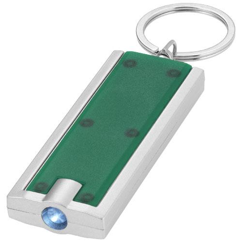 Porte-clés publicitaire avec lampe torche Castor - Goodies salons