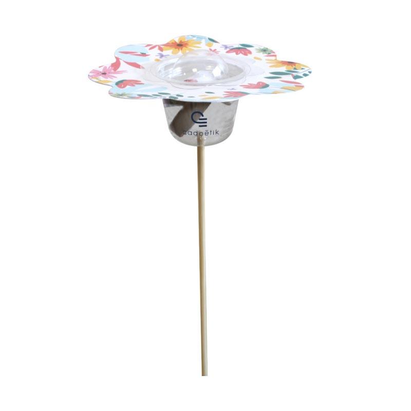 Tige florale avec graines publicitaires