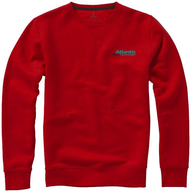 Sweater publicitaire ras du cou Surrey rouge