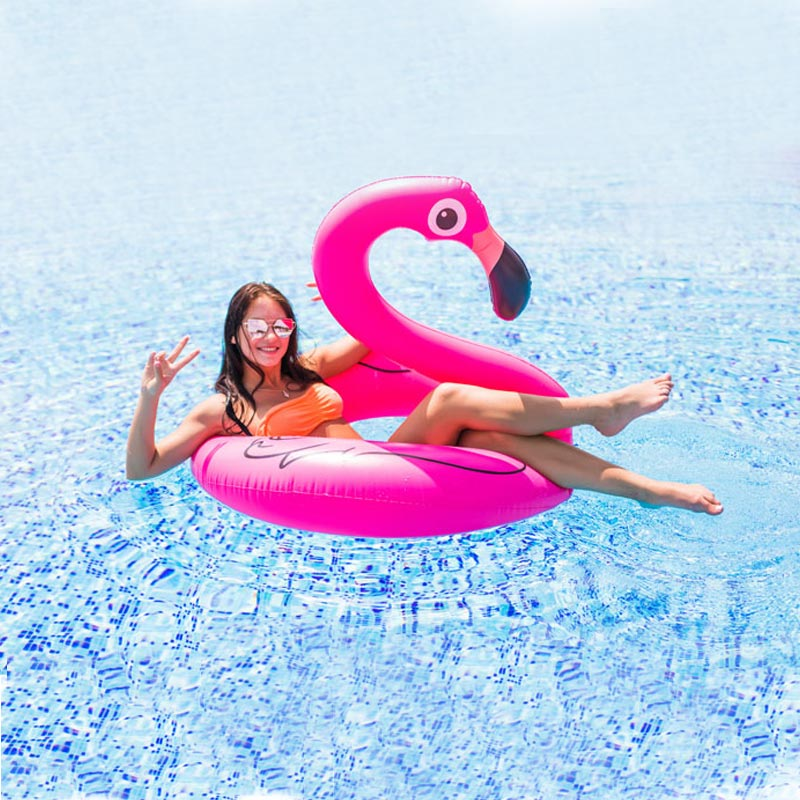 Bouée Flamant Rose gonflable  Flamingo