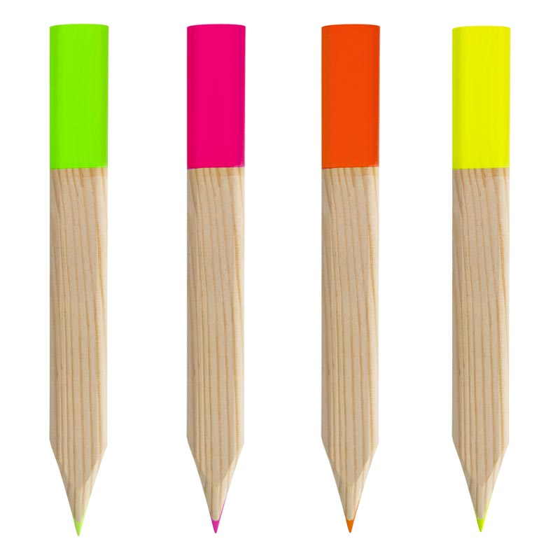 crayon surligneur publicitaire écologique Brio pin français - goodies