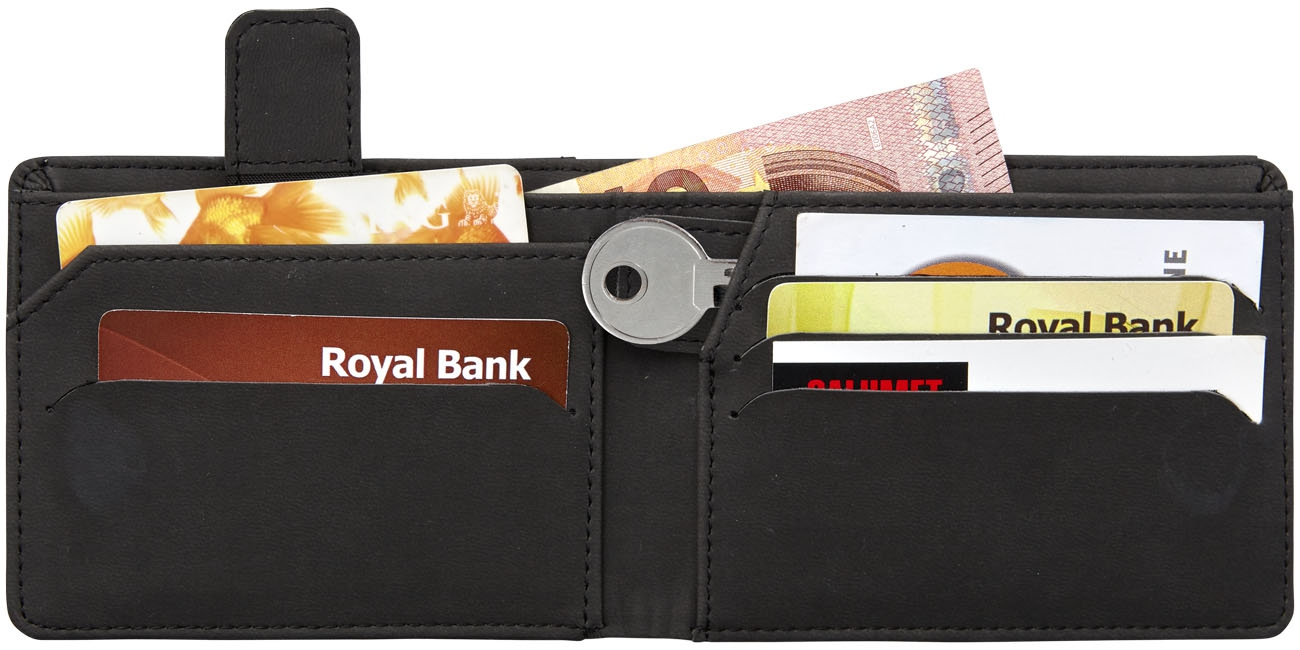 Cadeau d'entreprise voyage - Portefeuille personnalisé RFID Adventurer