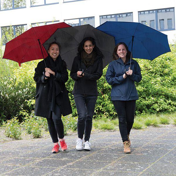 """Parapluie publicitaire manuel réversible de 23"""" Backwards - Parapluie personnalisable"""