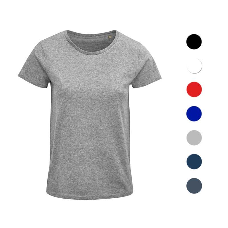 t-shirt personnalisé pour femme en coton bio Crusader