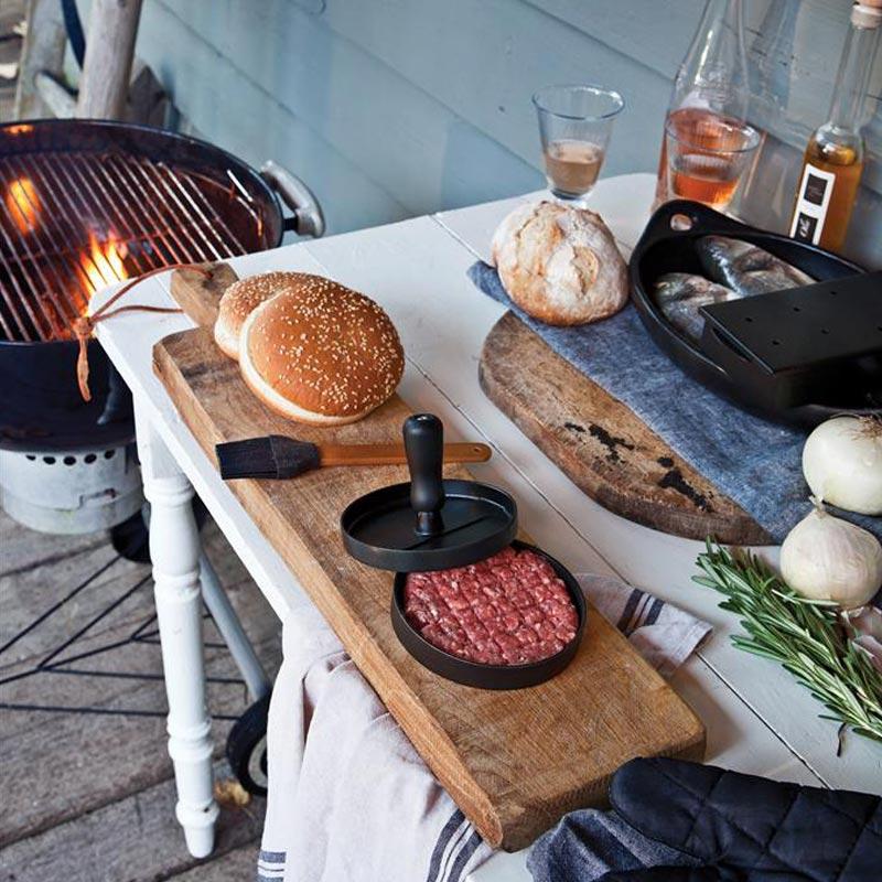 Goodies cuisine - Ustensiles personnalisables pour barbecue Hamburger