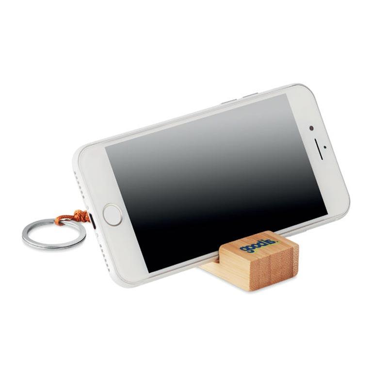porte-clé pour support téléphone