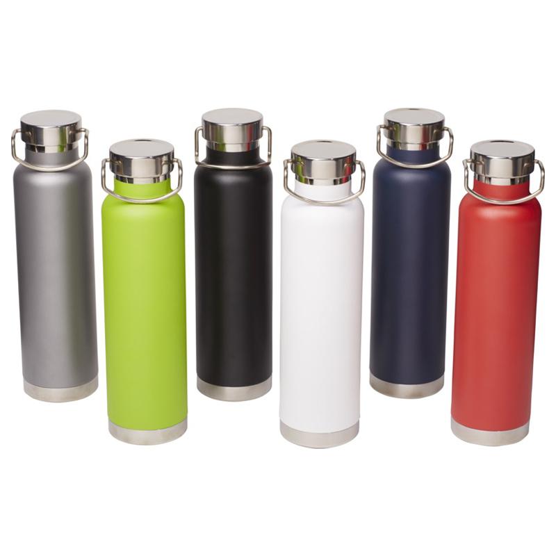 Bouteille isotherme publicitaire Thori 650 mL - Coloris disponibles