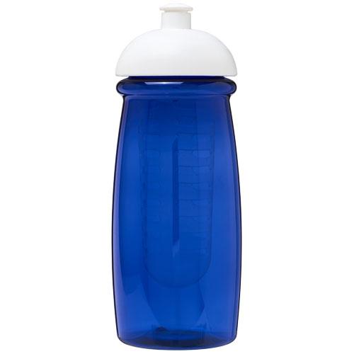 Gourde sport personnalisable et infuseur H2O Pulse® 600 ml avec couvercle dôme