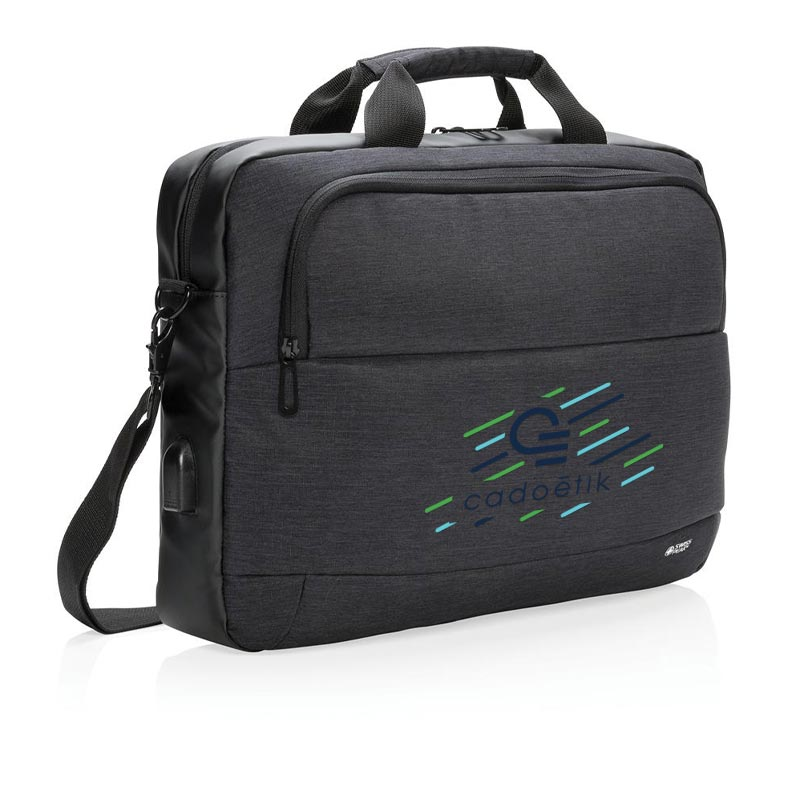 """Cadeau d'entreprise - Sacoche pour ordinateur portable 15"""" Swiss Peak"""
