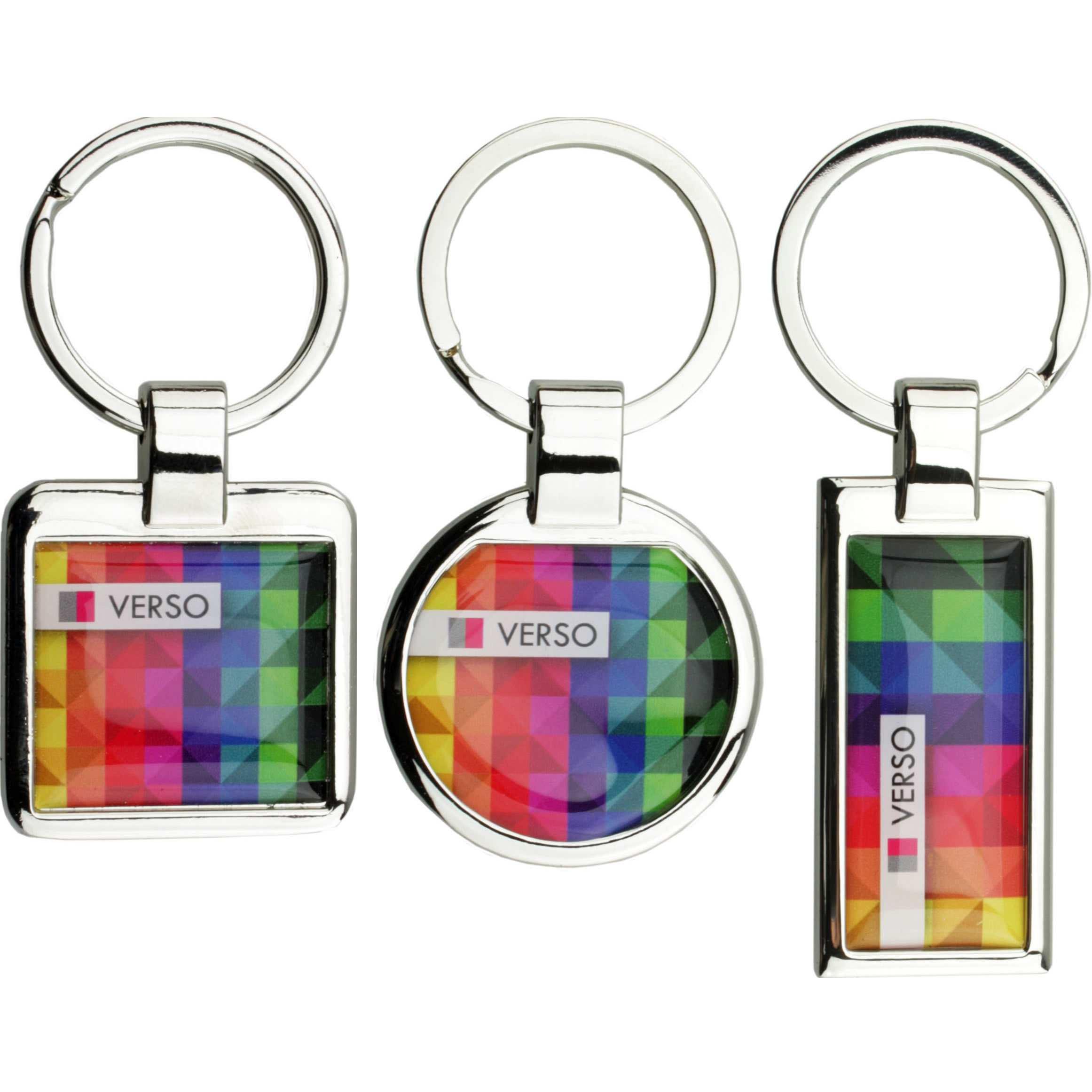 Porte-clés publicitaire Verso - porte-clés personnalisable