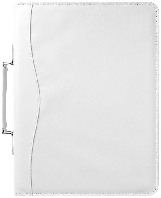 Serviette classeur zippée A4 Ebony - conférencier publicitaire